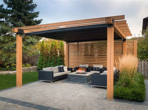 shade structure ideas to maximize everyday use of this outdoor space pro land enlisted the services of shadefx to