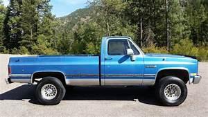 1987 Gmc    Chevrolet Sierra Truck C  K K2500 4x4 Excellent