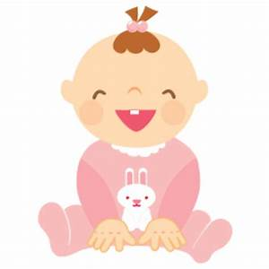 Baby Girl Laughing 256 | Free Images at Clker.com - vector ...