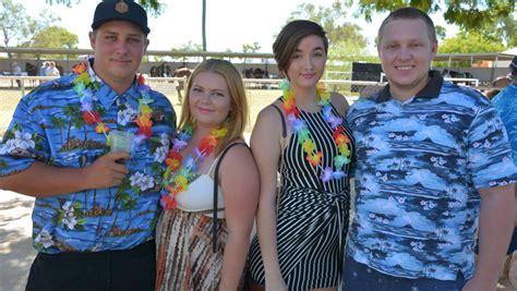 cloncurry luau races  queensland country life