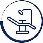 Dental Chair Equipment Icon Floss Sunstar Gum