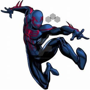 Spider-Man 2099 marvel avenger alliance by redknightz01 on ...