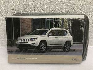 2017 Jeep Compass Owners Manual Set With Case Oem Free