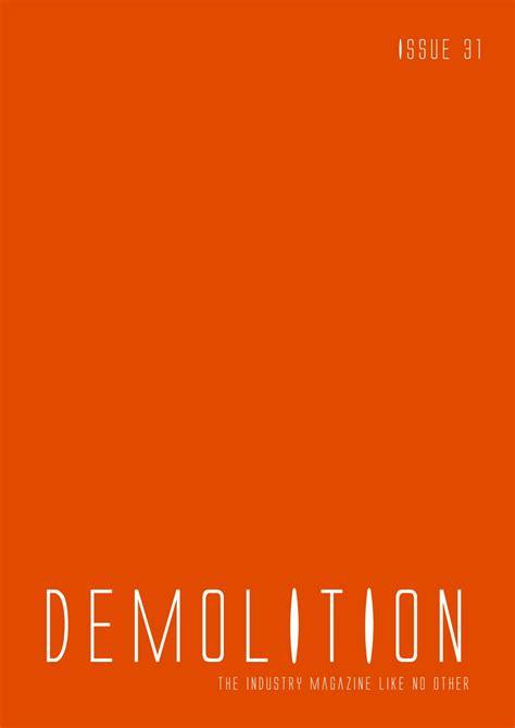 demolition magazine issue   mark anthony issuu