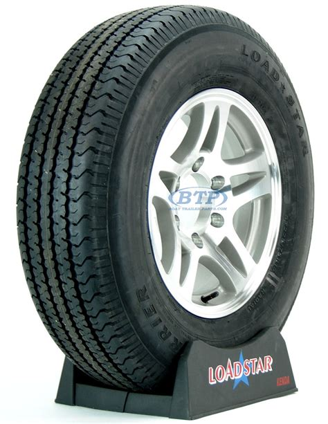Boat Trailer Tires On by Boat Trailer Tire St225 75r15 Radial On Aluminum Wheel 6