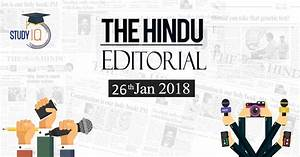 The Hindu Editorial Daily News Analysis Free PDF Downlaod ...