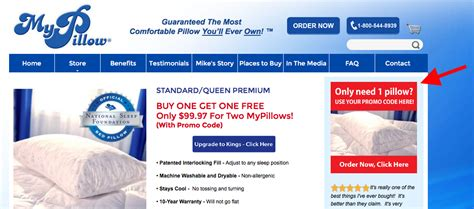 my pillow promo code mypillow in advertising