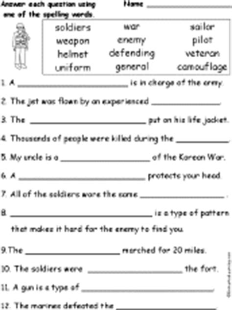 US Military Theme Page at EnchantedLearning.com