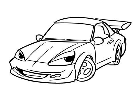 Kleurplaat Raceauto by Auto Kleurplaat 37 Superleuke Gratis Kleurplaten Auto S