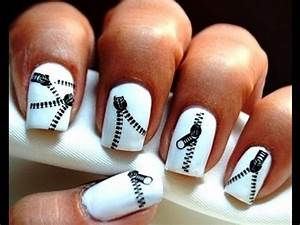 Zip Nails *Decals* : Cute Nail Art Designs step by step ...