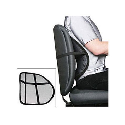 mesh lumbar lower back support cushion relief seat