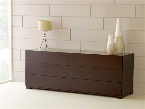 Contemporary Bedroom Furniture, Six 6 Drawer Chest