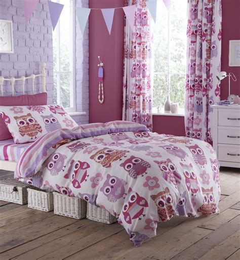 Owl Bedding by Owls Duvet Quilt Cover Bed Bedding Set Single Or