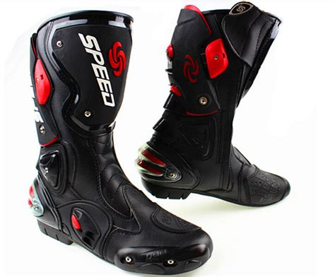 new motorcycle boots new fashion leather pro biker motorcycle boots