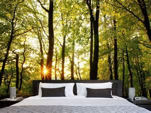 fototapete wald schlafzimmer die besten 17 ideen zu fototapete schlafzimmer auf tapeten vlies fototapete und