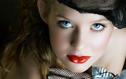 Face Woman Lips Faces Pretty Wallpapers Eyes