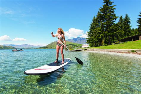 Stand Up Paddle Boarding Queenstown