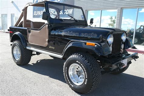 jeep eagle for sale 1979 jeep cj7 golden eagle sport utility 2 door 5 0l