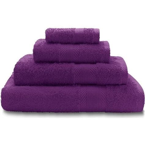 Purple Towels Bathroom   Bathroom Design Ideas