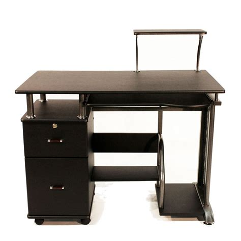 desk with printer cabinet amazon com comfort products 50 100505 rothmin computer