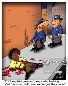 Funny Police Brutality Cartoon