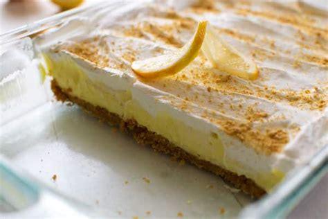 lemon cheesecake pudding dessert kitchen gidget