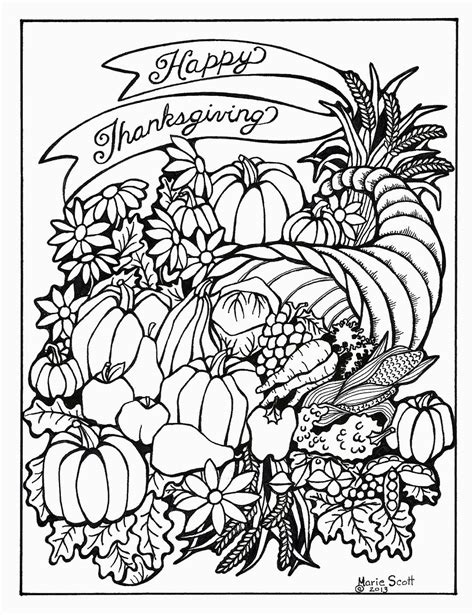 serendipity hollow thanksgiving coloring book pages