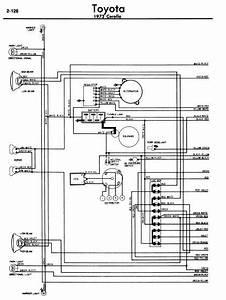 Toyota Corolla 1972 Wiring Diagrams