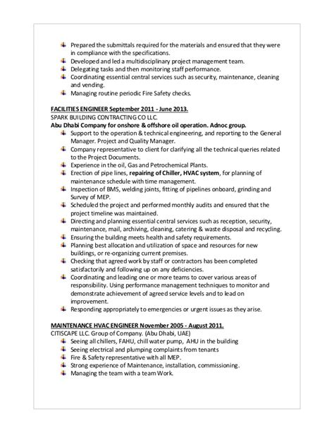 Facilities Maintenance Manager Resume by Facilities Maintenance Manager Resume