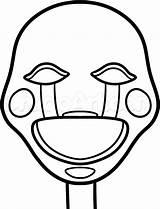 Dragoart Coloring Fnaf Freddy Nights Puppet Five Draw Sheets Gemerkt sketch template