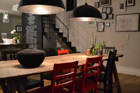 cuisine pratique et fonctionnelle l 39 aménagement d 39 une salle à manger style industriel en 48