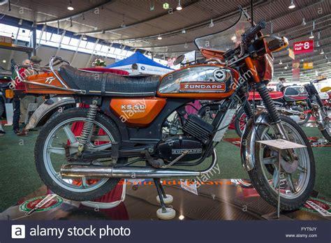 zündapp ks 50 wc motorrad z 252 ndapp ks 50 wc tt 1980 stockfoto bild