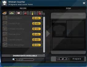 Kitchen Counter Starbound by Recipe Adjustment Cfire To Kitchen At Starbound Nexus