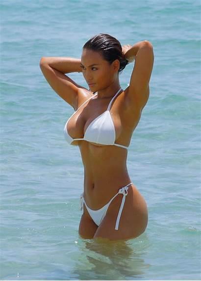 Daphne Joy Bikini Miami Beach Wet Looks