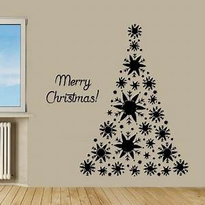 Wall Decor Stickers as an Alternative to a Christmas Tree