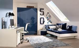 Diy Deko Jugendzimmer : jugendzimmer in dunkelblau und creme gestalten ~ Watch28wear.com Haus und Dekorationen