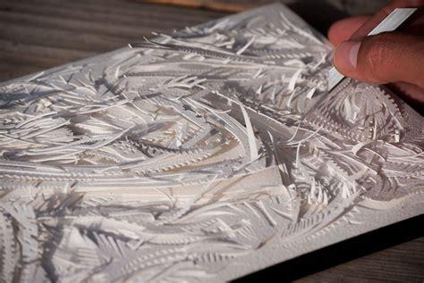 process turkana modra studio paper carving arches