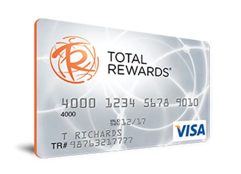 caesars entertainment total rewards visa card  bonus