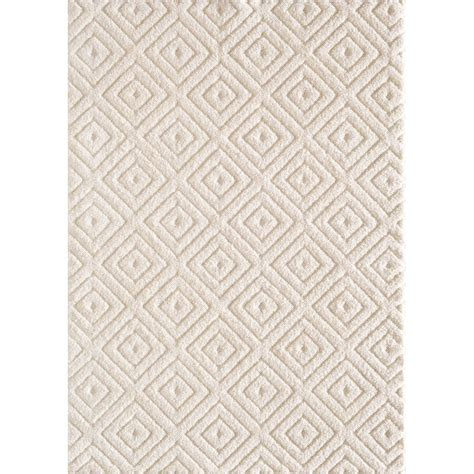 White Area Rug by Natco Ronin White 5 Ft X 7 Ft Area Rug Wel507 04 5