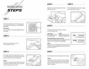 Universal Led Rear Spoiler Lip Kit