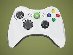 12 Xbox Controller Vector Images - Xbox 360 Controller ...