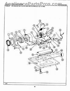Parts For Maytag De212  Motor Drive Parts