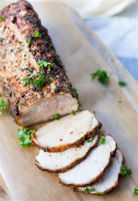 fryer air pork tenderloin cuisinart ninja gowise recipe foodi brands cook