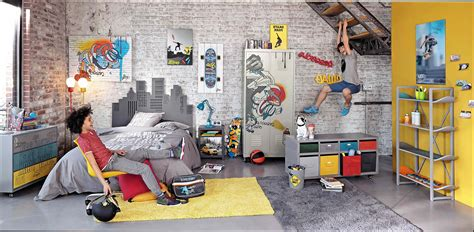chambre a coucher style americain fabulous deco chambre ado garcon skate with decoration