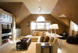 How, To, Decorate, Slanted, Ceilings