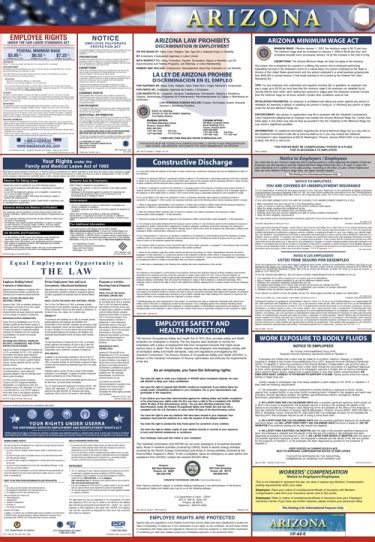 Try this site where you can compare quotes: Arizona & Fed Combo Poster