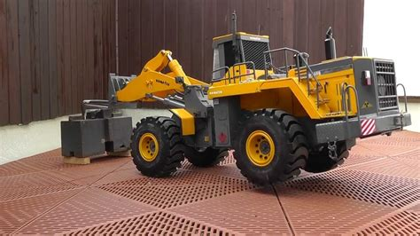rc strongest rc wheel loader  scale   lift
