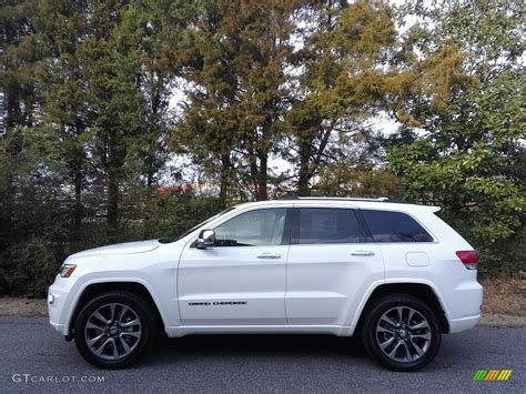 white jeep grand cherokee 2017 bright white jeep grand cherokee overland 4x4