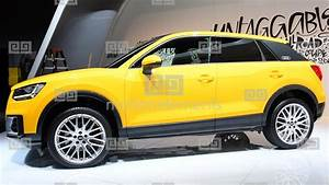 Audi Q2 pact Crossover Luxury SUV Stock video footage 10186688