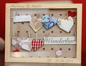 Hochzeit Geldgeschenk Verpacken : herziges geldgeschenk zur hochzeit love and marriage ~ Watch28wear.com Haus und Dekorationen
